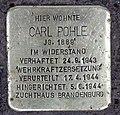 Stolperstein Silbersteinstr 114 (Neukö) Carl Pohle.jpg