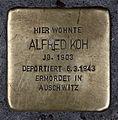 Stolperstein Sophienstr 5 (Mitte) Alfred Koh.jpg