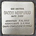 Stolperstein für Gaddo Morpurgo (Ostra).jpg