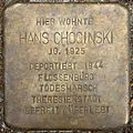 Stumbling block for Hans Chocinski (Alexianerstraße 3)