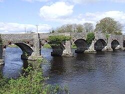 Stone bridge at Drumsna