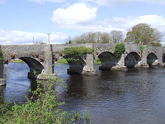 Drumsna - Image: Stone bridge at Drumsna