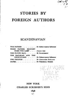 Stories by Foreign Authors (Scandinavian).djvu