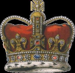 corona de san eduardo wikipedia