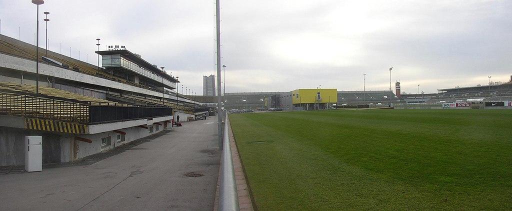 Strahov, Praha - najväčší futbalový štadión