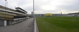 Strahov Stadium - Interior of the stadium from northeast corner (2006)