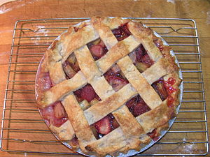 Better lattice top this time! Recipe from the ...