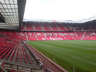 Stretford End - The Stretford End, taken from the South-East corner of the ground