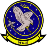 Strike Fighter Squadron 97 (US Navy) insignia c1998.png