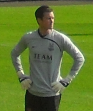 Stuart Nelson - Nelson playing for Aberdeen in 2009