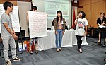 Students join the 'USAID and Higher Education in Vietnam' talk (8202362270).jpg