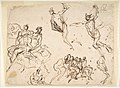 Studies of a Group of Seated Figures and of a Flying Figure MET DP809919.jpg