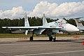 Sukhoi Su-27SM-3 Flanker 58 red (8508514820).jpg