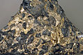 Sulfidic serpentintite (platinum-palladium ore) Johns-Manville Reef, Stillwater Complex.jpg