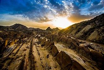 Sunrise in the Tabernas Desert.jpg