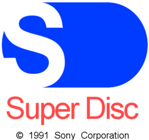 Super NES CD-ROM - Recreation of a Super Disc logo used in 1991 until 1993.