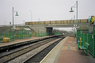 Sutton Parkway railway station Railway station in Nottinghamshire, England