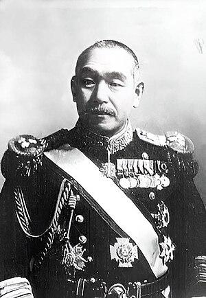 Kantarō Suzuki - During his term as naval minister.
