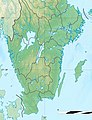 Sweden relief location map, 40south.jpg