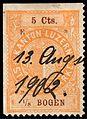 Switzerland Lucerne 1893 revenue 4 5c - 36 - E 8 93.jpg