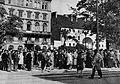 Szczekaczka Krakowskie Przedmieście podczas okupacji.jpg