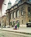 Szeged 1990, Indóház tér, vasútállomás (Nagyállomás). Fortepan 16600.jpg