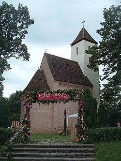 Szent Mihály templom, Csempeszkopács1.jpg