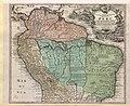 TABULA AMERICÆ SPECIALIS GEOGRAPHICA REGNI PERU, BRAZILIÆ, TERRÆ FIRMÆ &Reg AMAZONUM - Guillaume de L'Isle, c. 1729 - BL Maps K.Top.124.16 (BLL01018640916).jpg