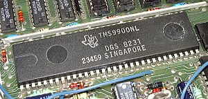 Texas Instruments TMS9900 - TMS9900NL in plastic DIP package