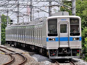 Tobu Urban Park Line - Image: TOBURAILWAY SERIES10030 11632F(Tc 16632) NODALINE