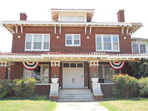 National Register of Historic Places listings in Garfield County, Oklahoma - Image: TT Eason Mansion