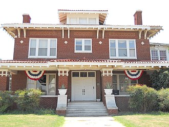 Waverley Historic District (Enid, Oklahoma) - Image: TT Eason Mansion
