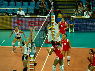 Turkey women's national volleyball team - TUR-FRA EVC 2009 Poland