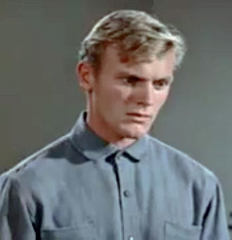Tab Hunter - Hunter in a trailer for Gunman's Walk (1958)