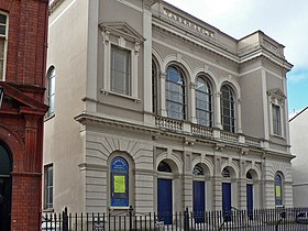 Tabernacle Welsh Baptist Chapel, The Hayes, Cardiff - geograph.org.uk - 1187383.jpg