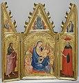 Taddeo di bartolo, madonna tra i santi giovanni battista e girolamo, 1395-97 ca..JPG