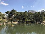 Takueichi Pond in Shukkei Garden 3.jpg