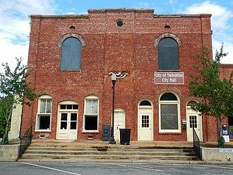 Talbotton, Georgia - Image: Talbotton, GA City Hall