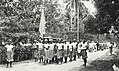 Tamasese funeral - Samoa 1930 - to the right is Faumuina chief with single stripe - AJ Tattersall (cropped).jpg