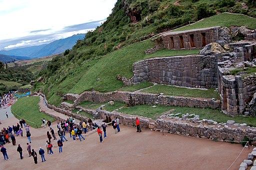 Tambomachay, Valle Sagrado de los Incas, Cuzco, Perú - panoramio