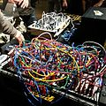 Tangled cables at Tokyo Festival of Modular 2013.jpg
