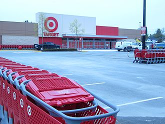 Target Canada - Target store at Scottsdale Centre in Delta, BC.