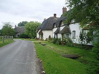 Tarrant Monkton Human settlement in England