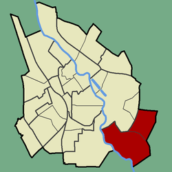 Location of Ihaste in Tartu.