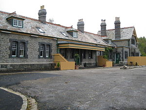 Plymouth, Devonport and South Western Junction Railway - Tavistock North railway station in 2008
