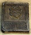 Tds, Palazzo dei Commissari o del Pretorio, cortile, stemma sacchetti.JPG