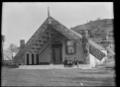 Te Tikanga a Tawhiao meeting house at Ngatira, South Waikato ATLIB 129829.png