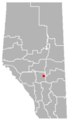 Tees, Alberta Location.png