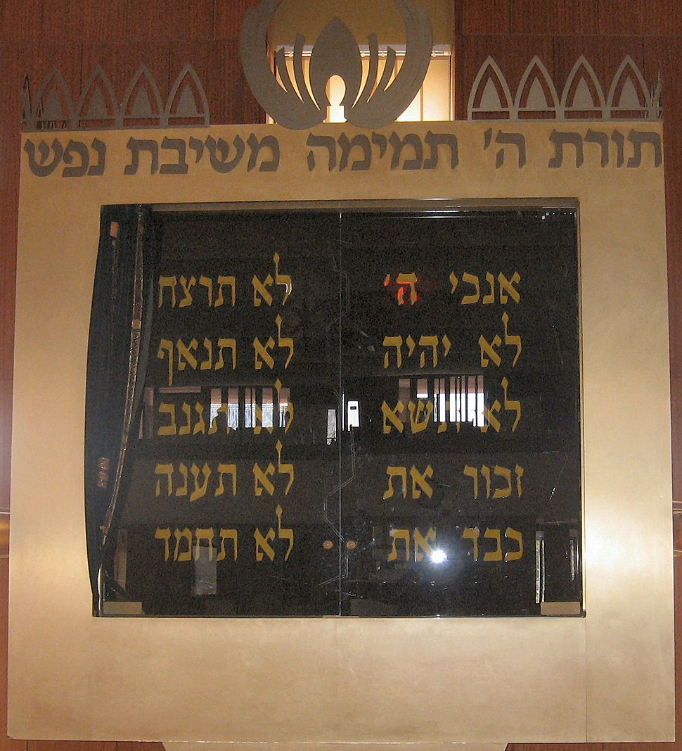 Ten commandments A