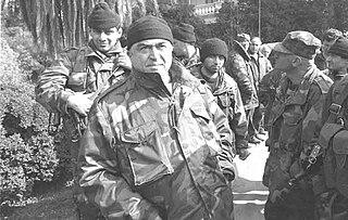 Tengiz Kitovani Georgian general